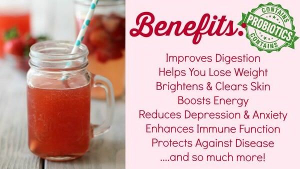 benefits of drinking kombucha tea