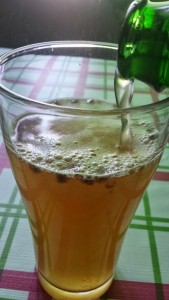Blackberry Kombucha tea