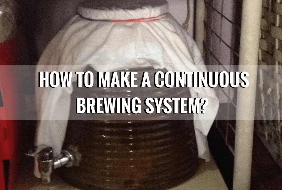 How to Make Kombucha Continuous Brewing System