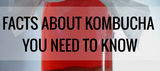 Facts About Kombucha You Need to Know