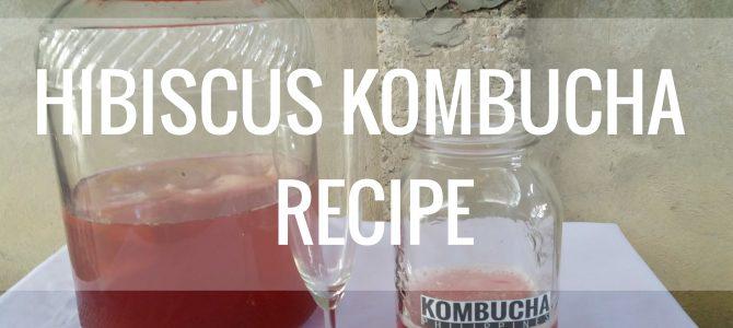 Hibiscus Kombucha Recipe
