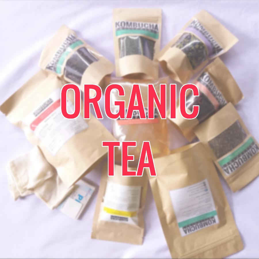 Organic Teas & Tisanes