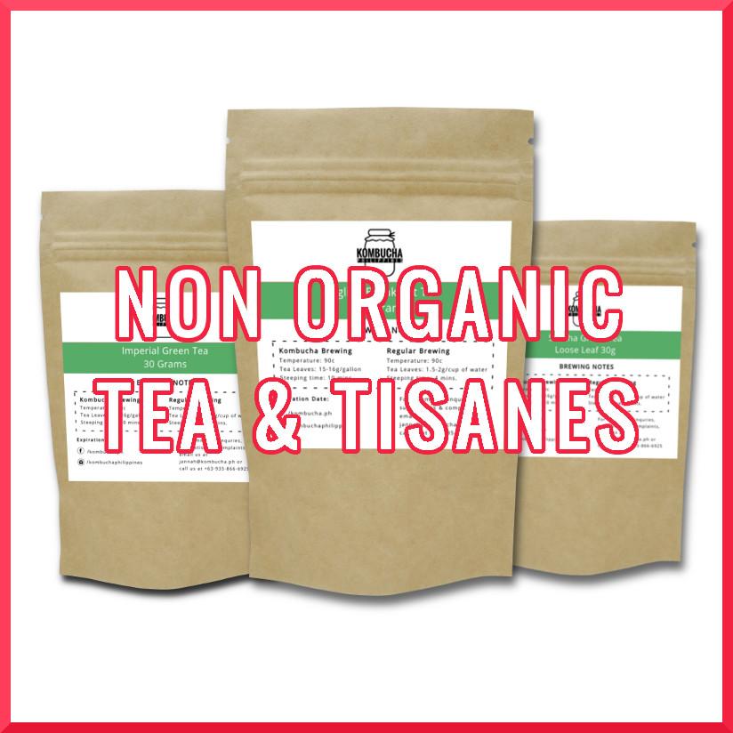 Non-Organic Tea & Tisanes